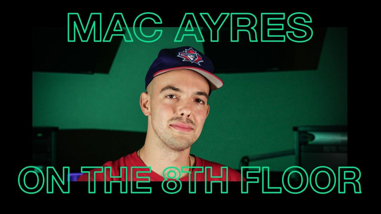 "Mac Ayres Performs ""Jumping Off The Moon"" LIVE 