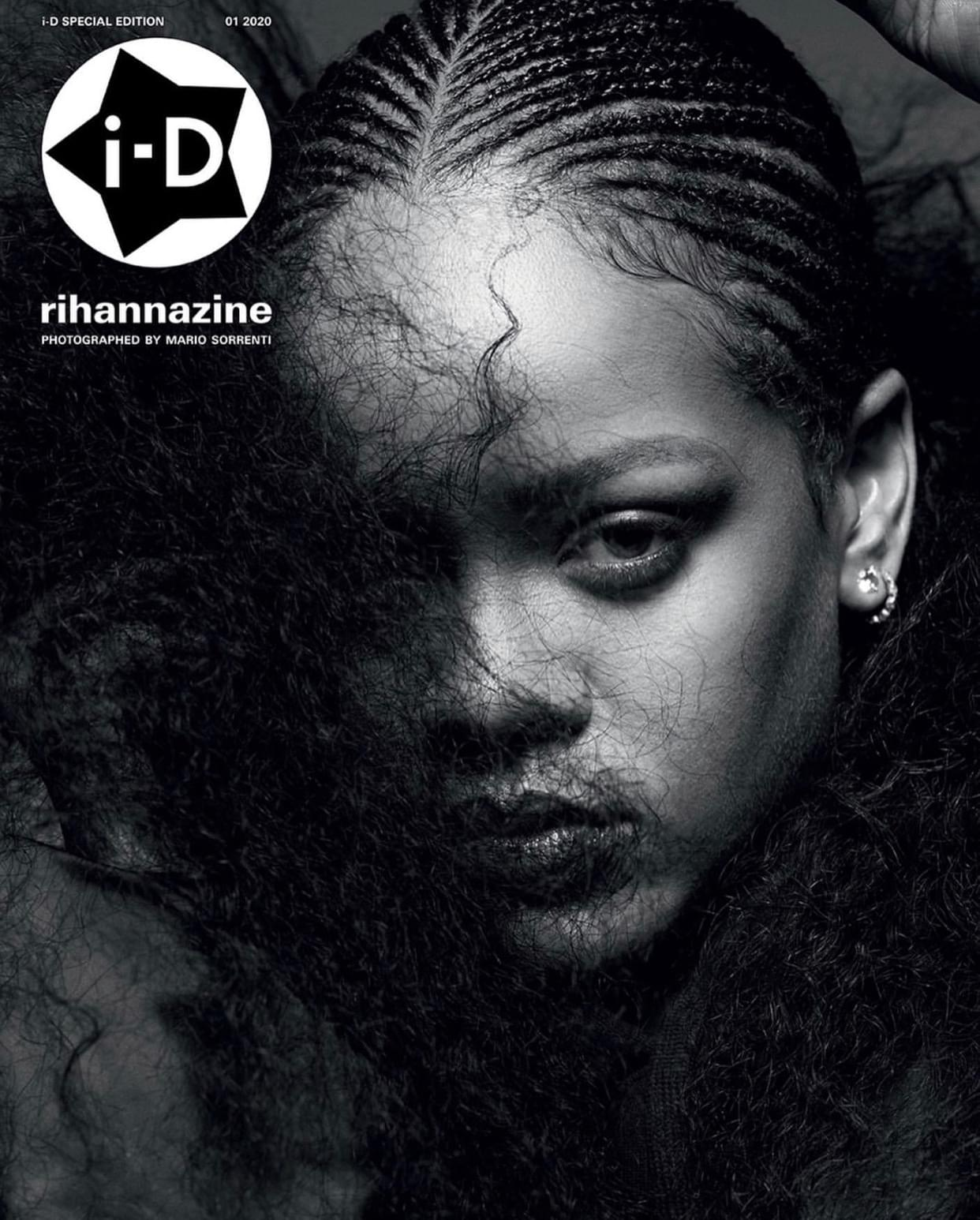 Rihanna and 'i-D' Collab For Their 'Rihannazine' Issue
