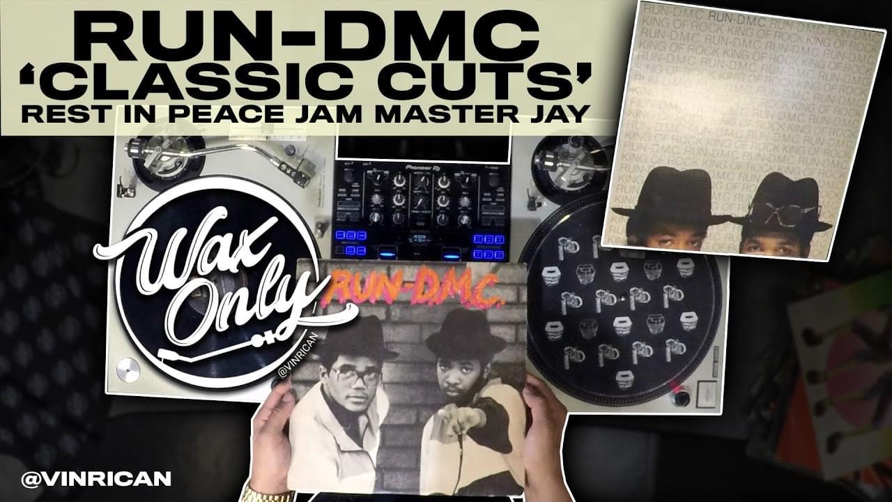 #WAXONLY: Vin Rican Showcases Samples Used On Classic RUN-DMC Tracks