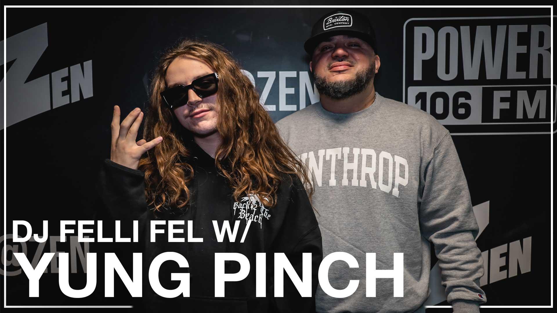 Yung Pinch Says Working w/ Wiz Khalifa Was A Dream Come True [WATCH]
