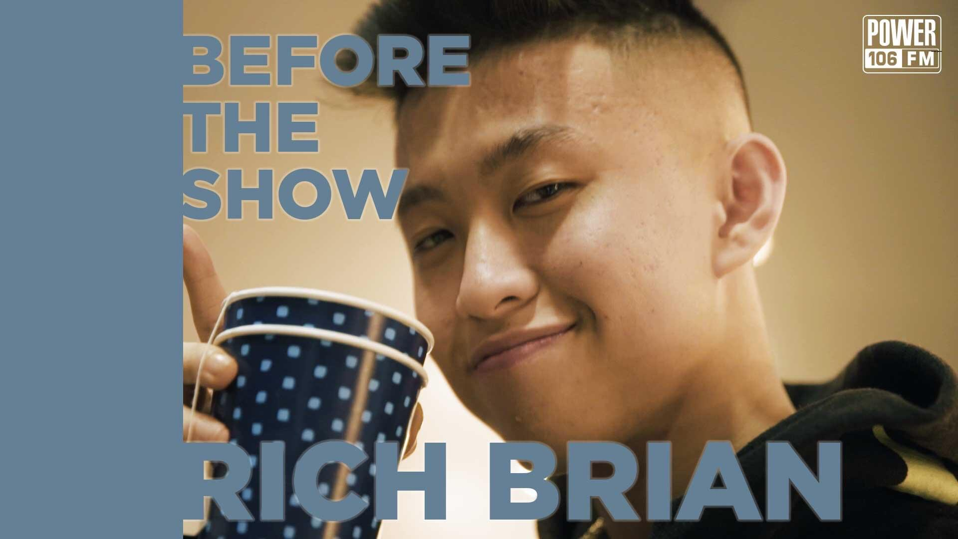 Rich Brian Solves A Rubik's Cube In 21 Seconds & Details Studio Session w/ RZA [WATCH]