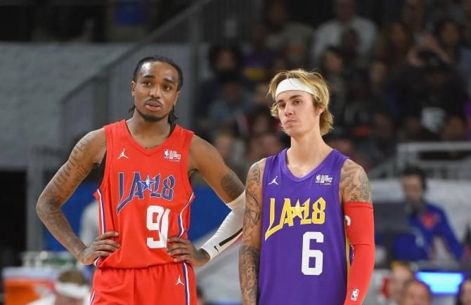 Quavo And Justin Bieber Spotted Music Video For New Single
