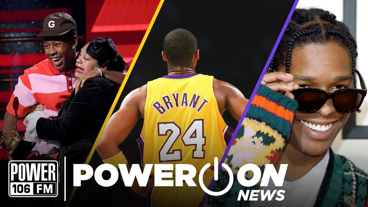 #PowerOn: LA Mourns The Loss Of Kobe Bryant + Nipsey Hussle Wins 2 Posthumous Grammys