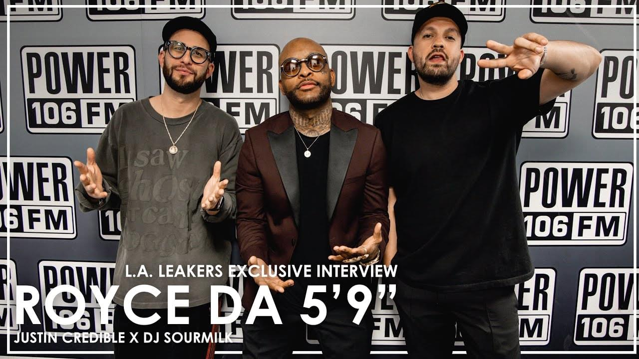 """Royce Da 5'9"""" On 'Allegory', Shows Love To Griselda & Praises Joe Budden For His Podcasting Success [WATCH]"""