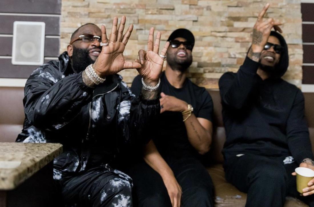 "Rick Ross Taps Dwayne Wade & Raphael Saadiq for ""Season Ticket Holder"" Video [WATCH]"