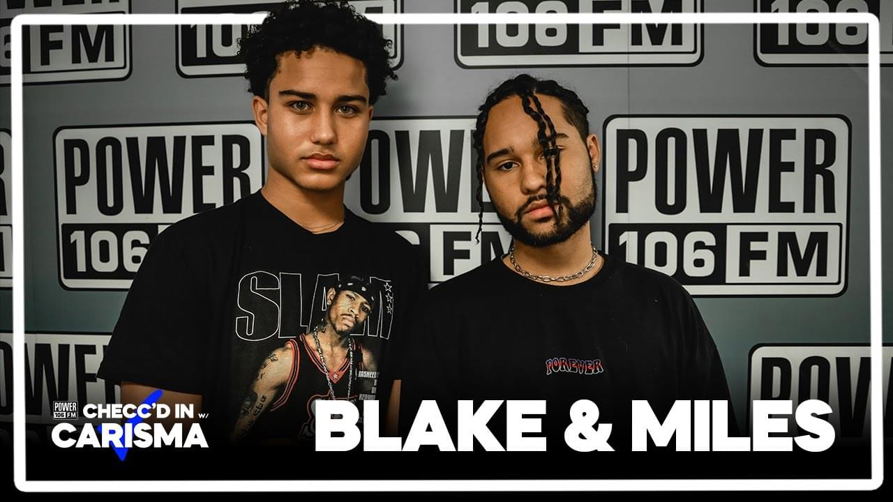 Blake And Miles Keep It In The Family & Make Music In Their Home Garage