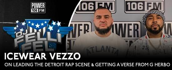 Icewear Vezzo On Leading The Detroit Rap Scene & Getting A Free Verse From G Herbo