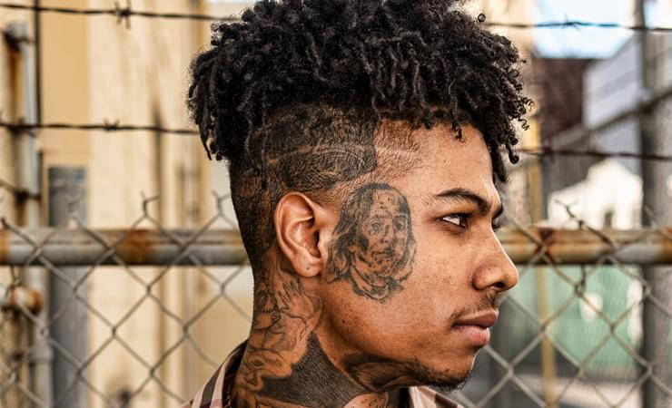 Fight Breaks Out At Blueface's Music Video Shoot