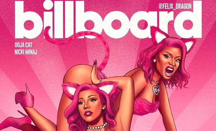 Doja Cat & Nicki Minaj Dethrown Megan Thee Stallion & Beyoncé For Billboard Hot 100 Crown