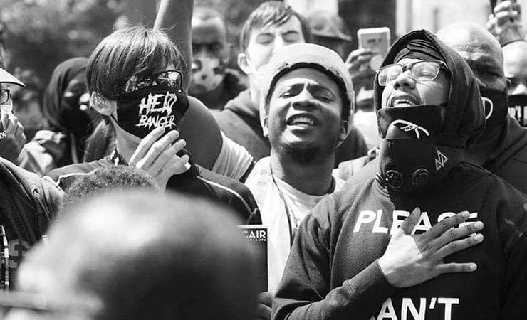 Nick Cannon, J. Cole, Offset + Other Celebrities Join Protest Across The Country