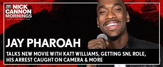 Jay Pharoah Talks New Movie With Katt Williams, Getting SNL Role, His Arrest Caught On Camera, Modern Day Slavery & More