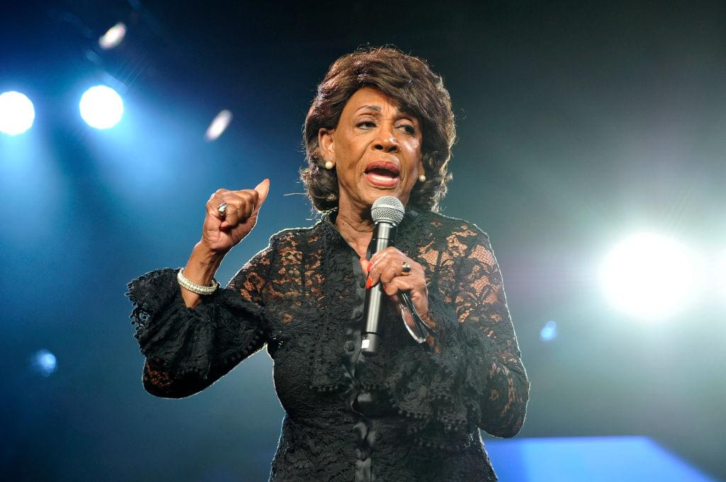 Maxine Waters Reacts To Joe Collins Saying She's Prone To Covid-19 + Kanye West Drops Campaign Ad