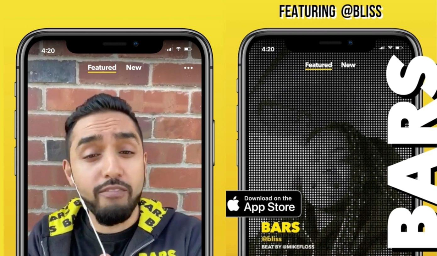 Facebook Launches TikTok-Like App For Rappers Called BARS
