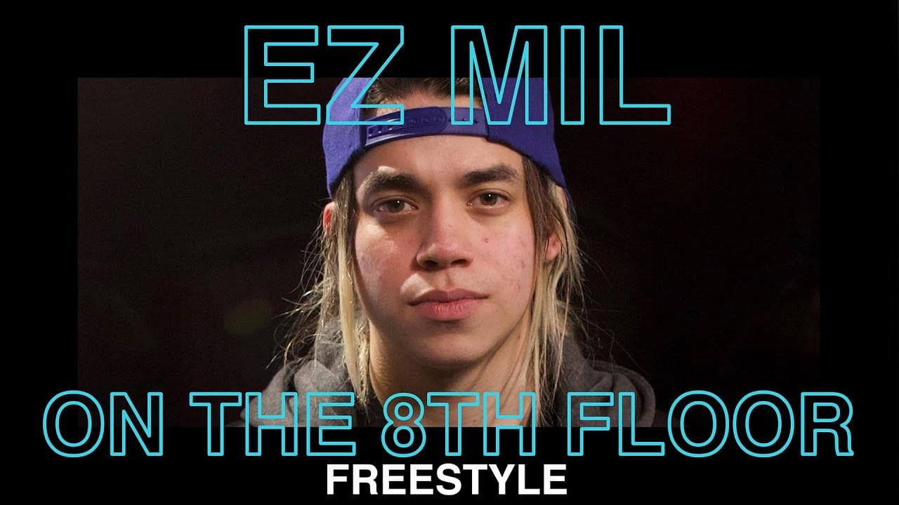 EZ Mil Nods To Nipsey Hussle & YG In Emotionally Charged Freestyle LIVE | ON THE 8TH FLOOR