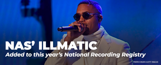 National Recording Registry Adds Nas, Janet Jackson And More