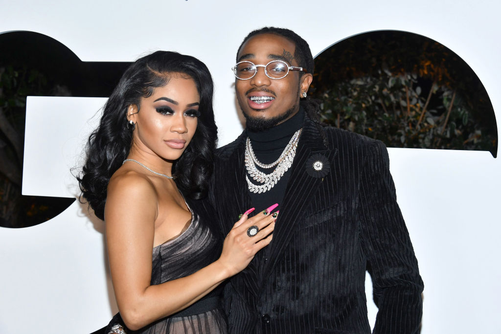 Leaked Footage Shows Saweetie & Quavo In Elevator Altercation