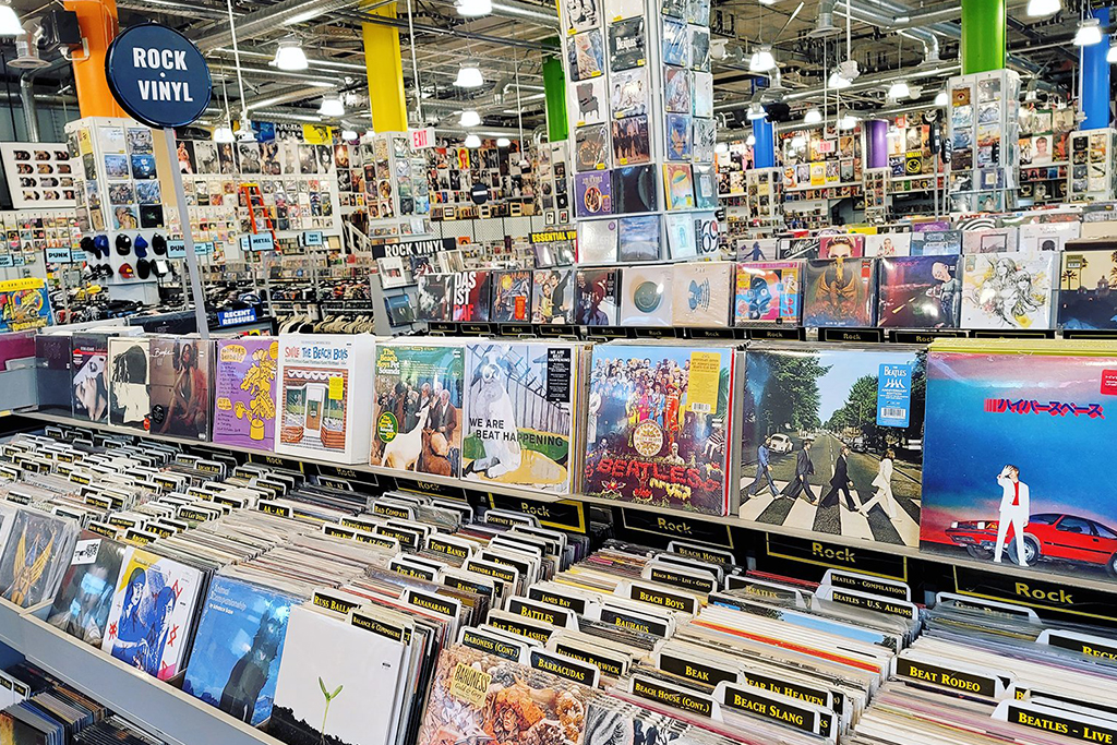 Amoeba Music Reopens In Hollywood
