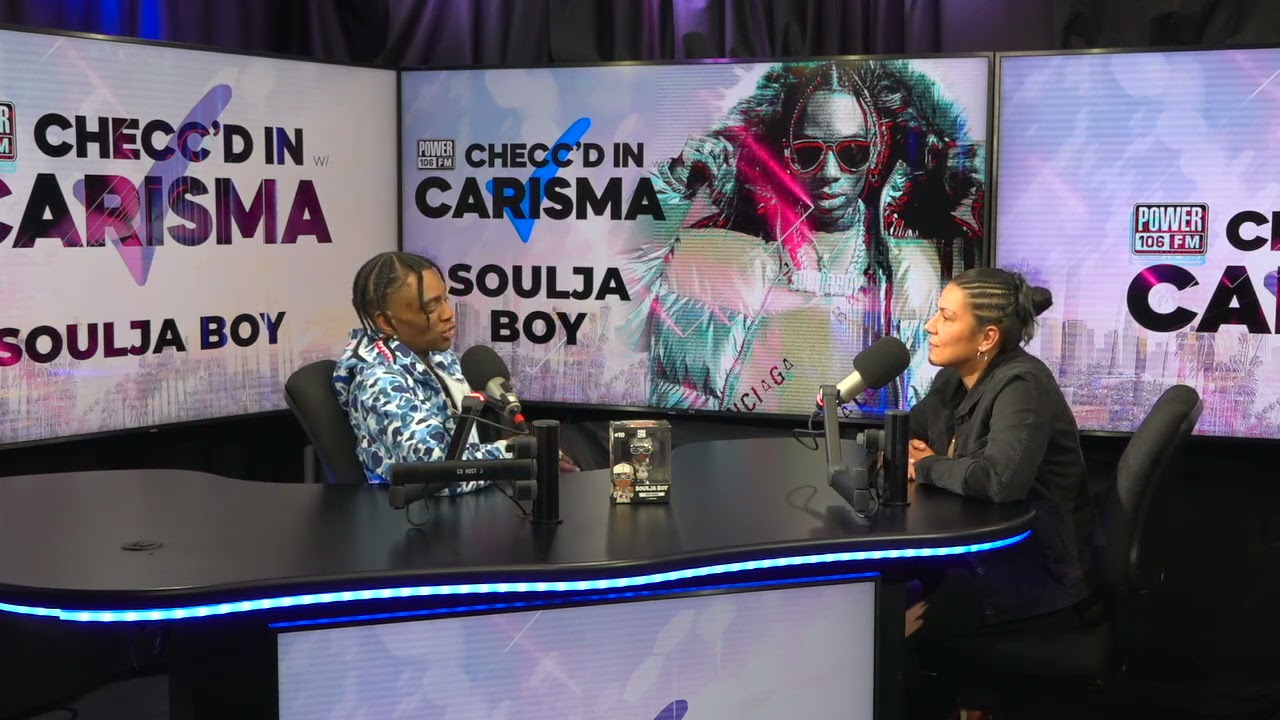 "Soulja Boy Talks ""She Make It Clap"" Tik Tok Success + Taking Over Gaming Industry On Twitch"