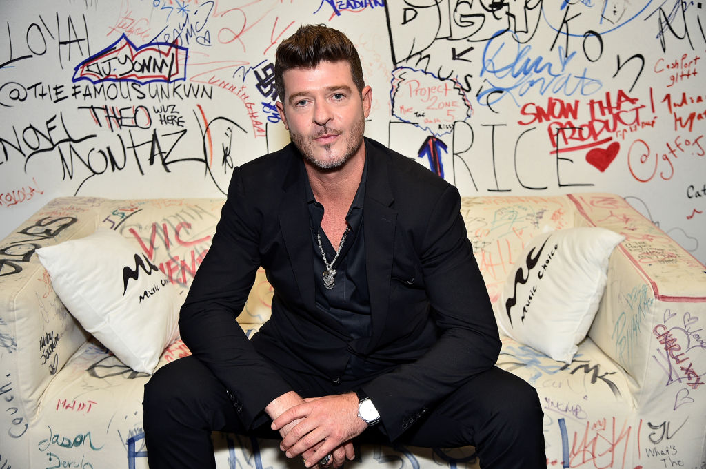 Robin Thicke Explains Why He Wouldn't Go Against Justin Timberlake In Verzuz Battle + Talks New Album