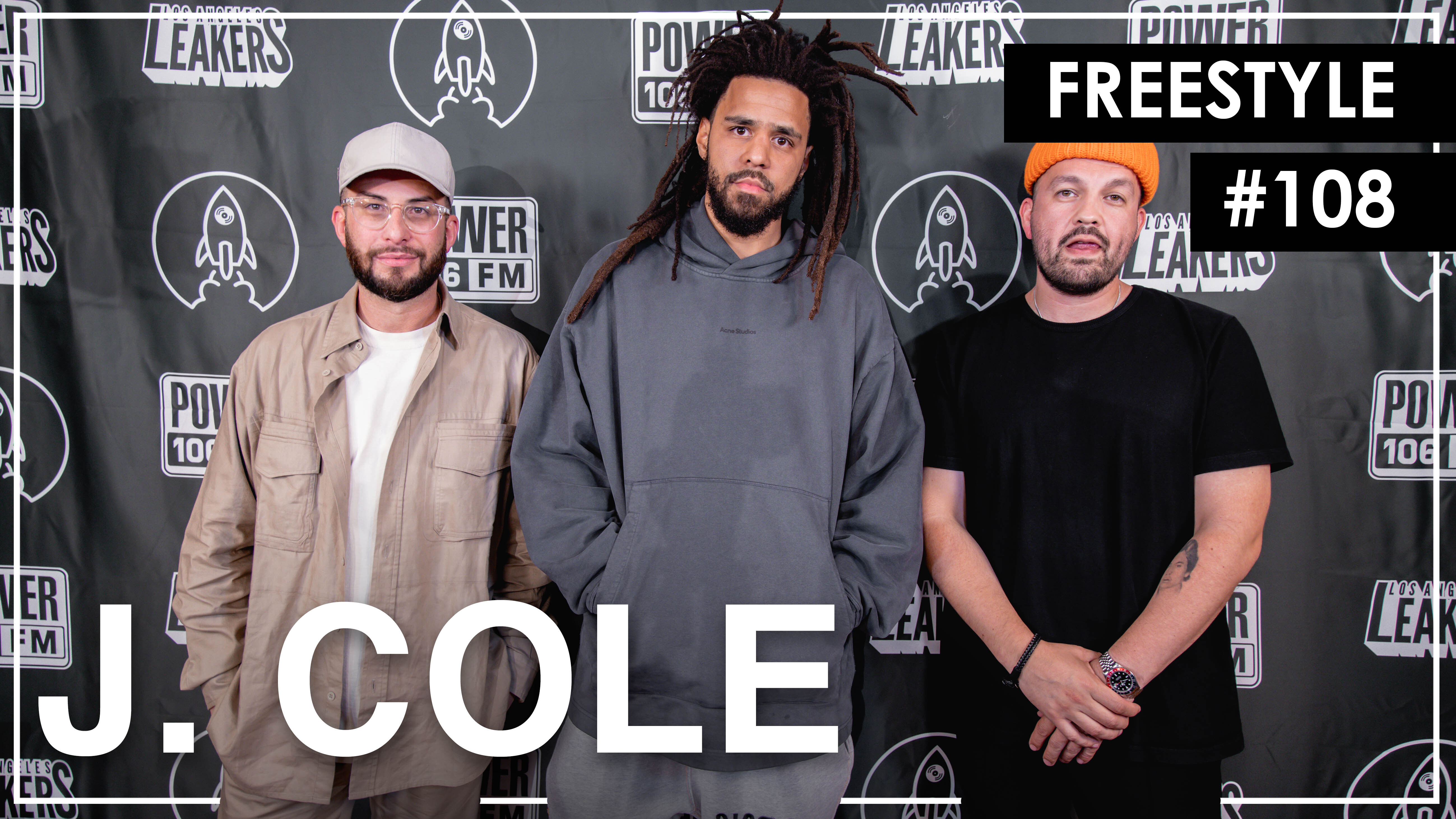 """J. Cole Freestyles Over """"93 Til Infinity"""" & Mike Jones' """"Still Tippin"""" – L.A. Leakers Freestyle #108"""