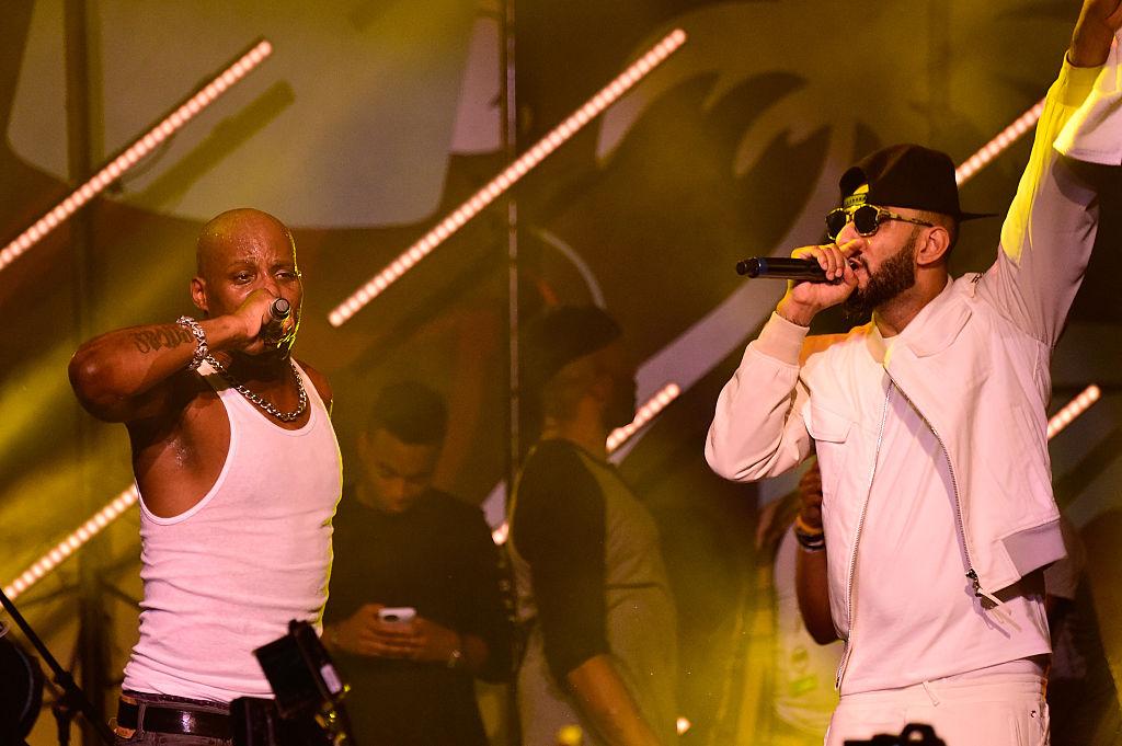 "Swizz Beatz Previews Version Of DMX's ""Bath Salts"" With J. Cole"