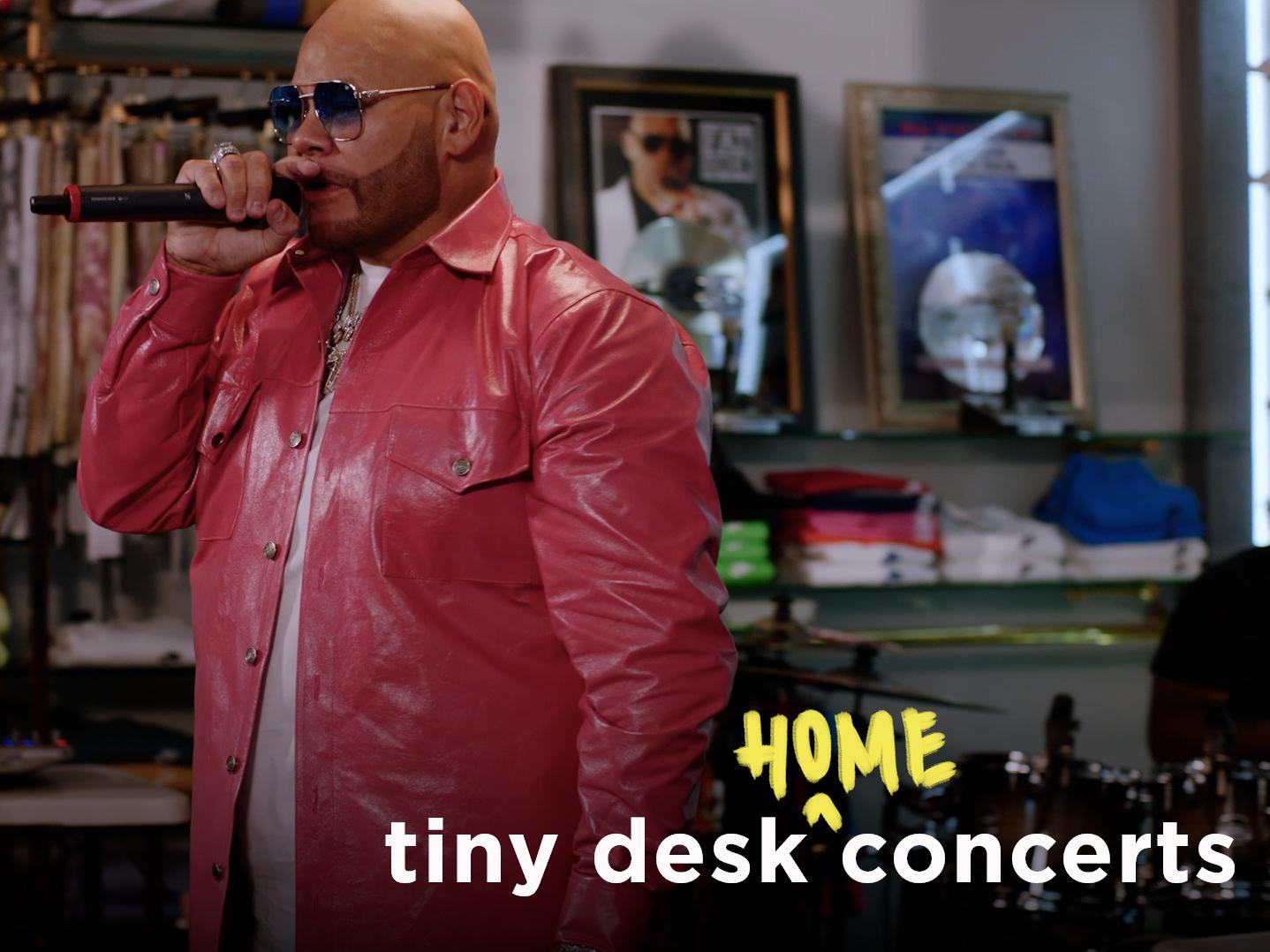 Fat Joe Performs Medley of Hits for NPR 'TIny Desk (Home) Concert'