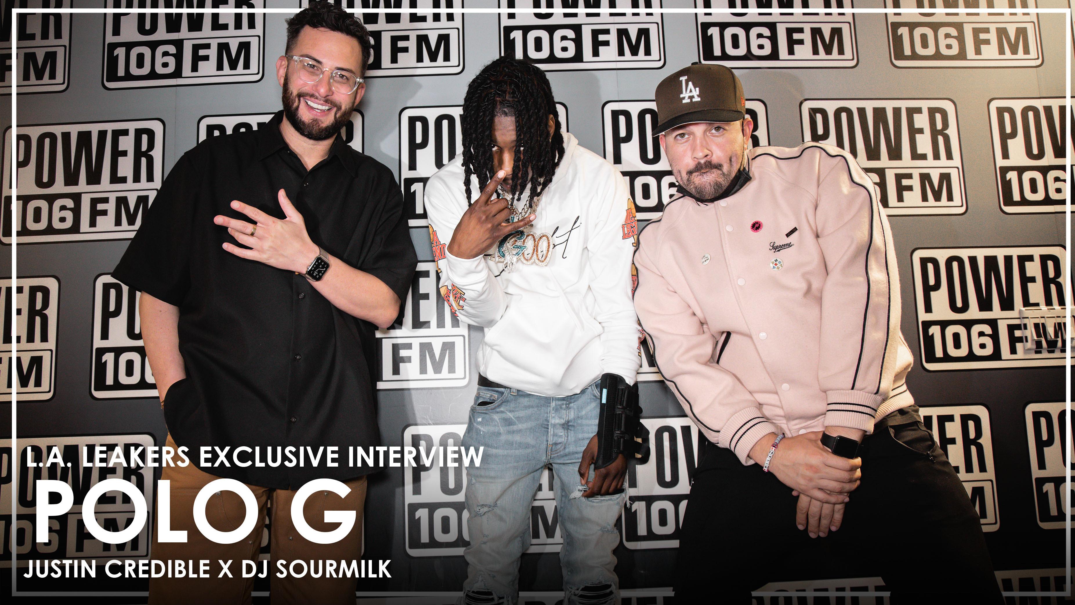 """Polo G Talks Lil Wayne Outshining Him On """"GANG GANG"""" + Nicki Minaj & Roddy Ricch Album Features"""