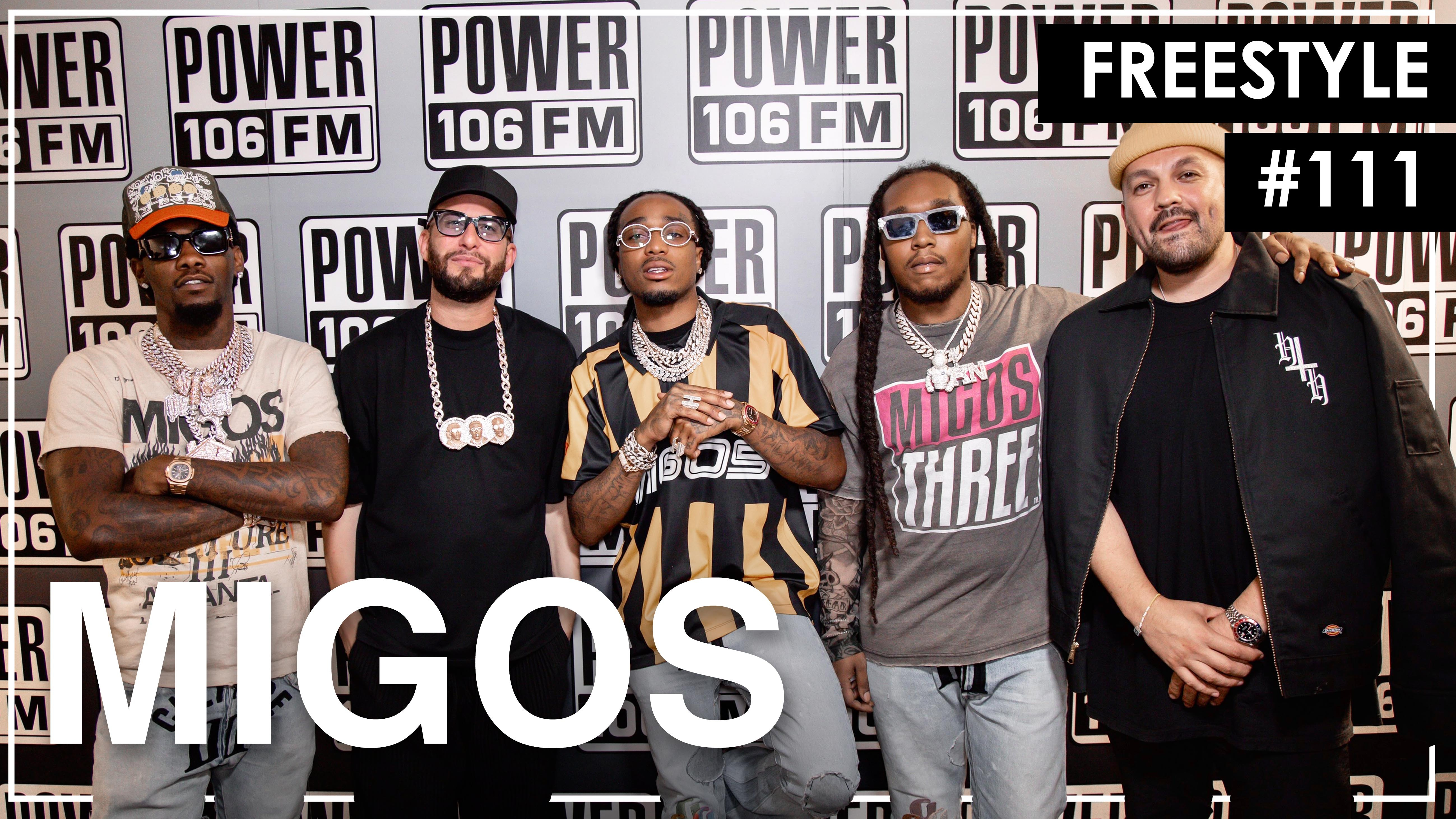 Migos Trade Bars In 'Culture 3' Stamped Freestyle With The L.A. Leakers – Freestyle #111