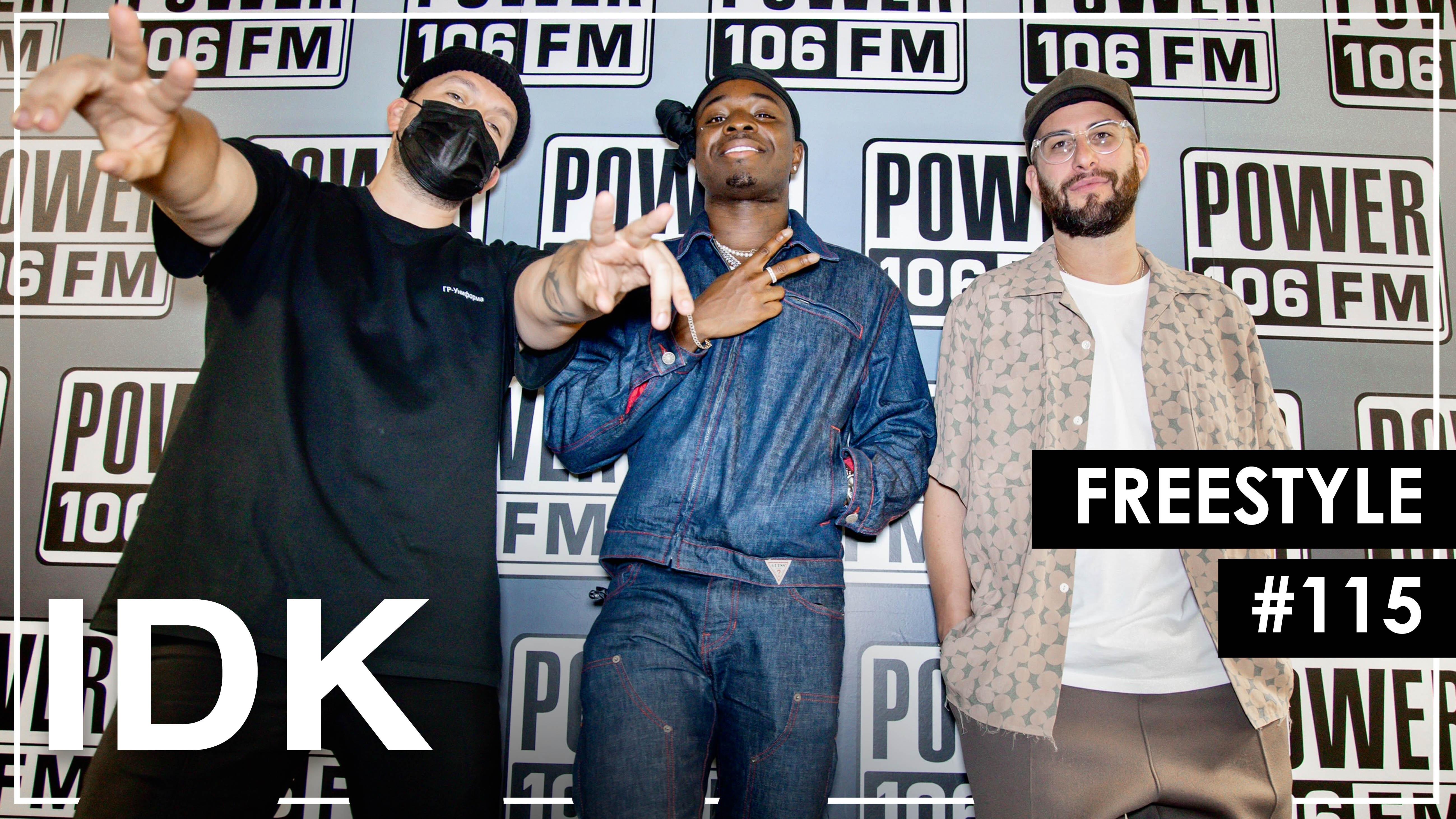 "IDK Effortlessly Slides Over Brent Faiyaz & Drake's ""Wasting Time"" Beat – Leakers Freestyle #115"