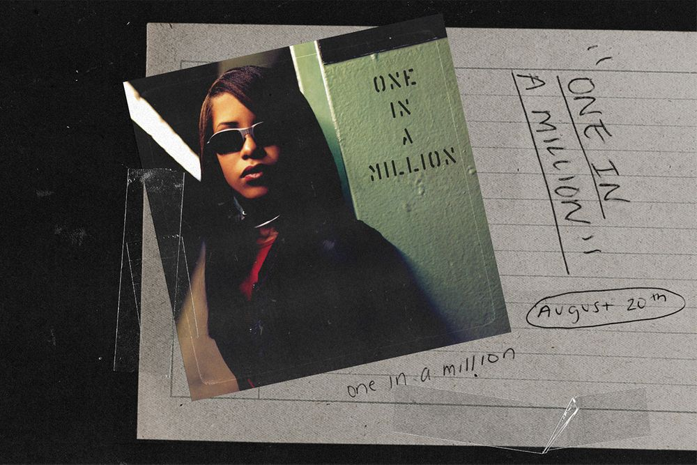 Aaliyah's Sophomore Album 'One In A Million' Can Now Be Streamed On Spotify