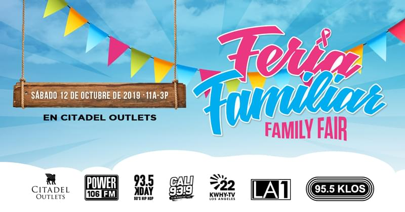 Feria Familiar   Saturday, October 12th 11AM-3PM