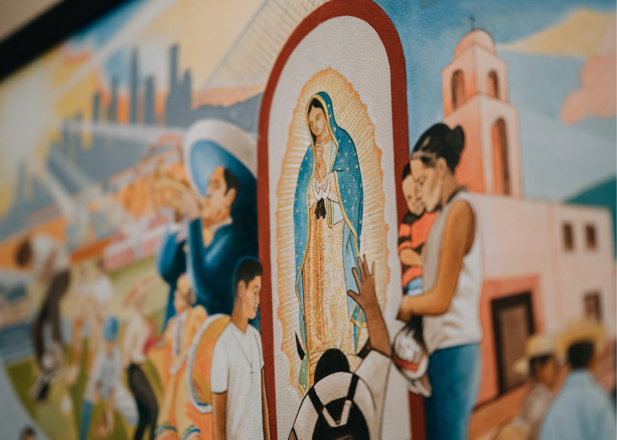 Exhibición de Arte en Honor a Nuestra Señora de Guadalupe y San Juan Diego