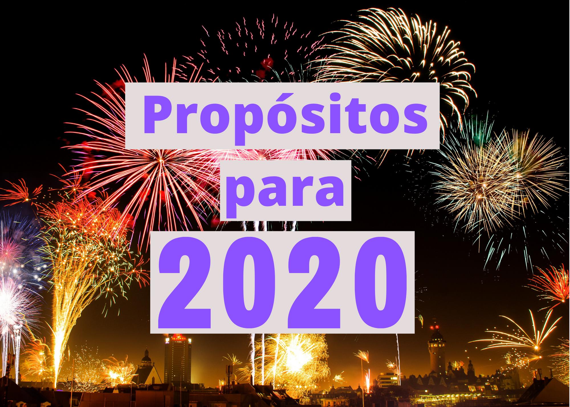 10 Propósitos Para el Año Nuevo