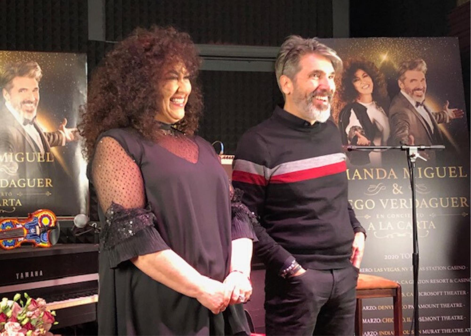 Amanda Miguel y Diego Verdaguer Anuncian Nueva Gira