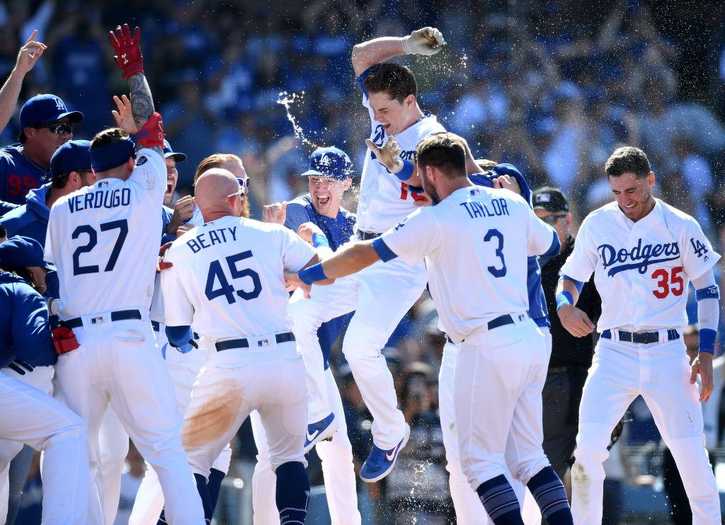Día De La Inauguración De Los Dodgers