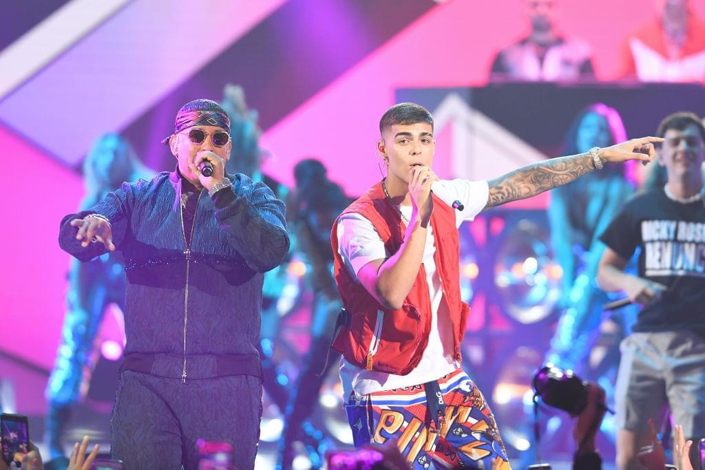 "Lunay Performs ""Fin de Semana"" on Kimmel"