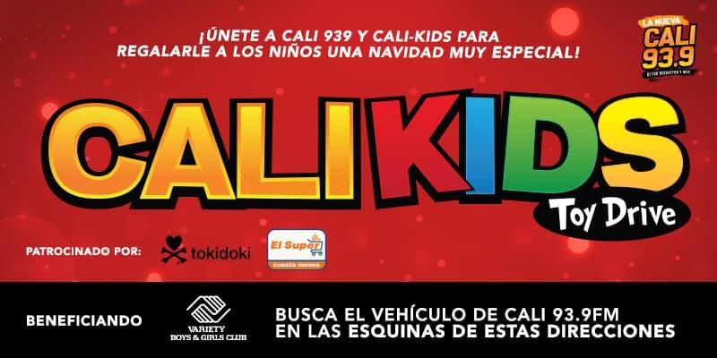Cali Kids – CALI 93.9 Toy Drive