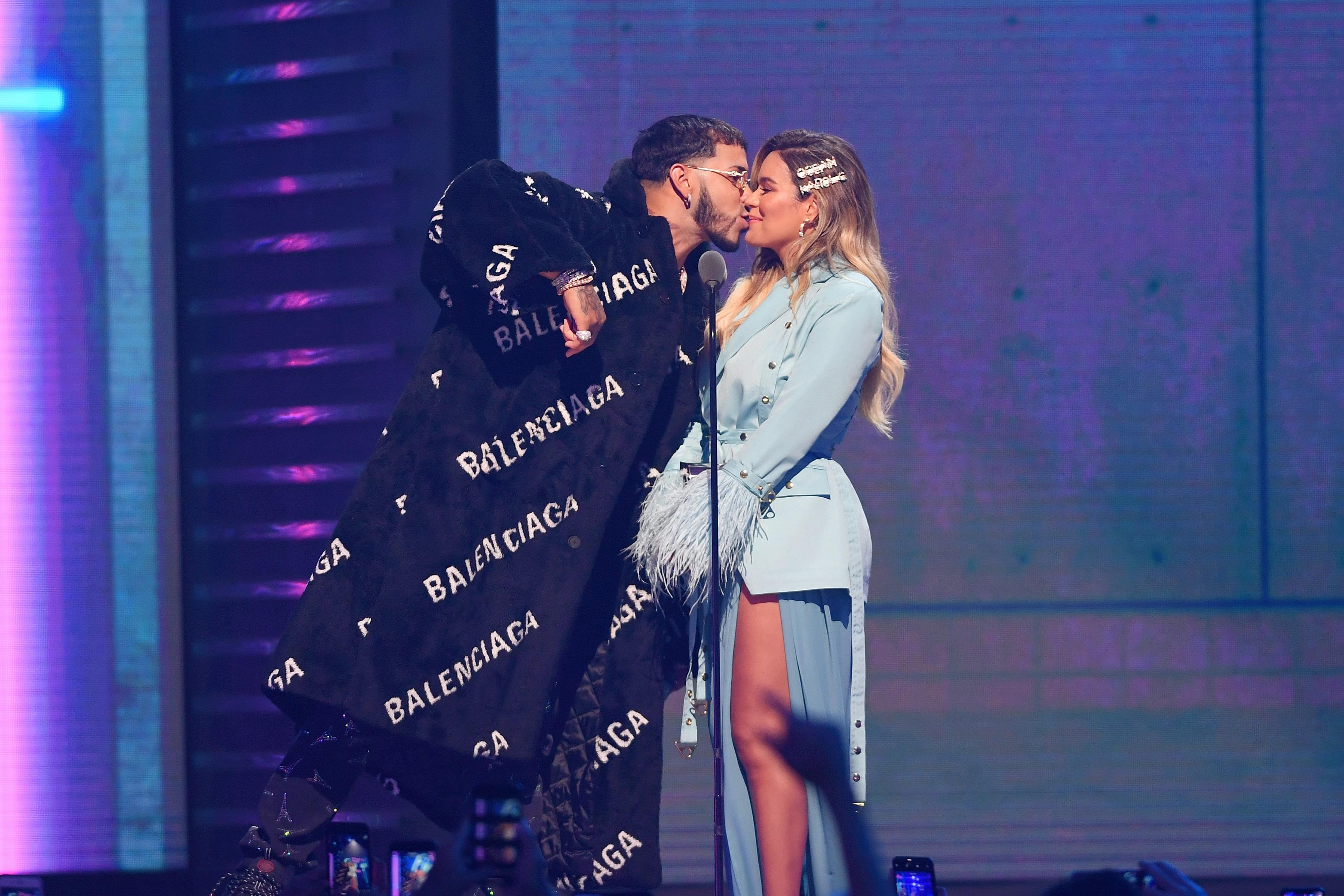Anuel AA & Karol G Confirm They're Getting Married This Year
