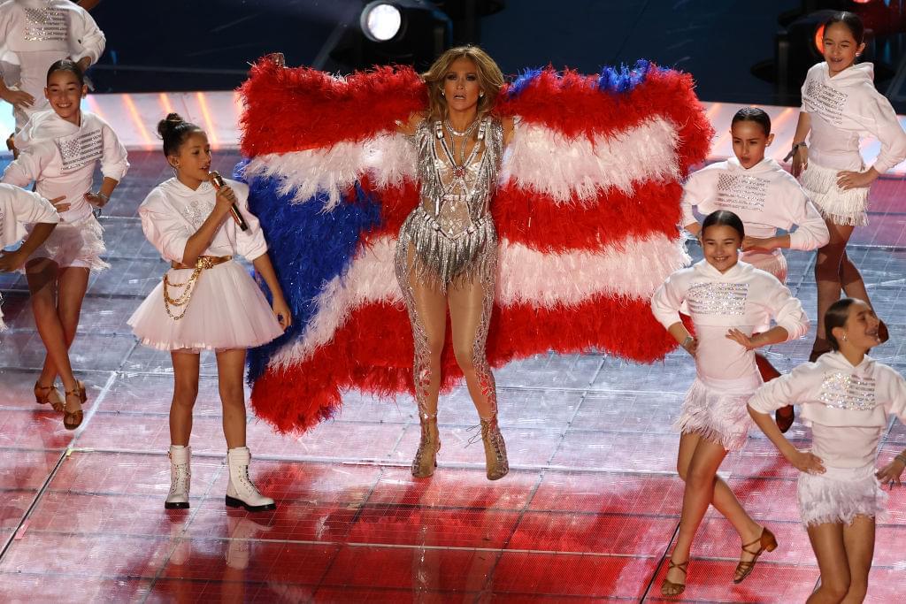 PETA backlash on Jennifer Lopez Halftime Feather Flag Coat