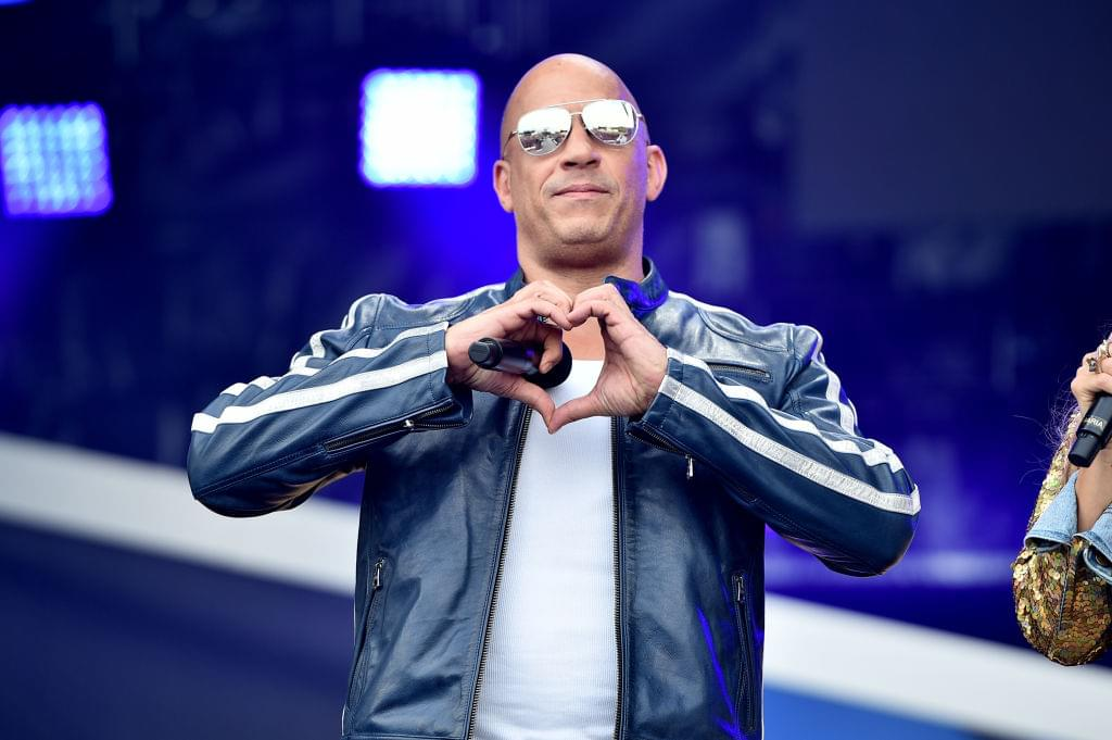 Vin Diesel on 'Coronao Now' Remix