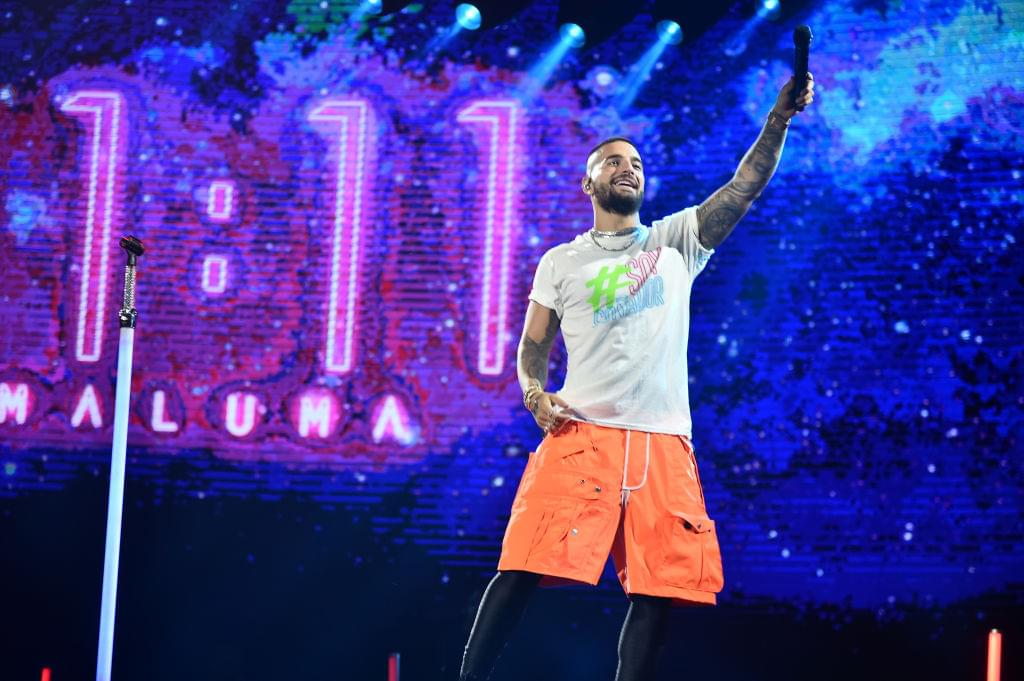 Maluma Performs at Dubai's Coca Cola Arena
