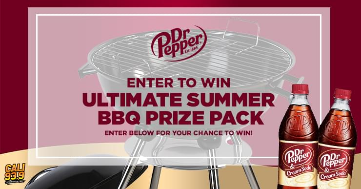 Dr Pepper Ultimate Summer BBQ Prize Pack