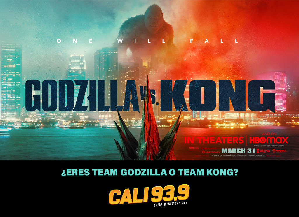 ¿Eres Team GODZILLA o Team KONG?