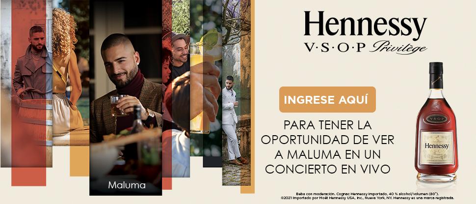 Hennessy VSOP Te Da La Oportunidad De Ver A Maluma