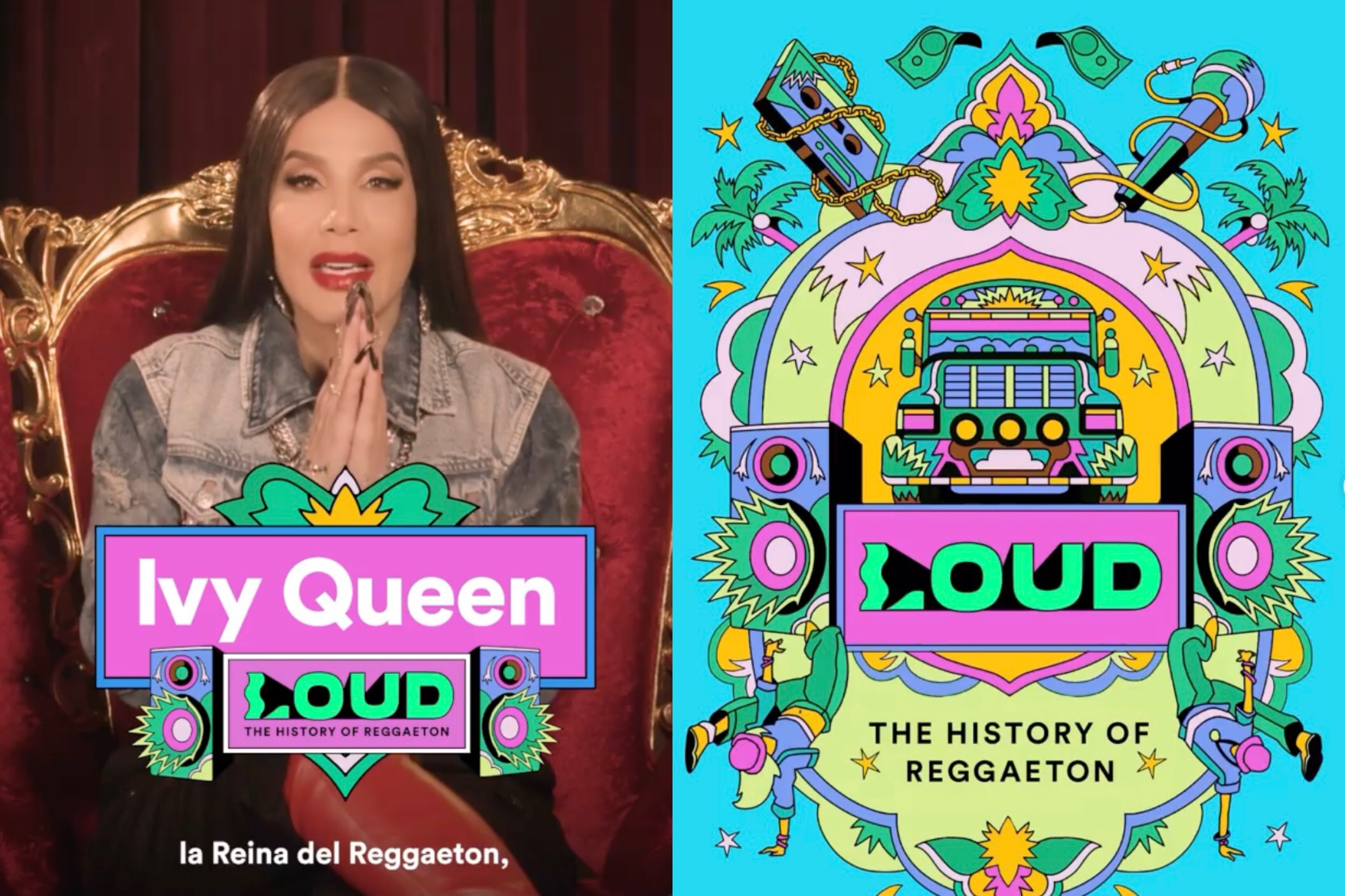 """Ivy Queen Sets The Record Straight On """"LOUD: The History Of Reggaeton"""""""
