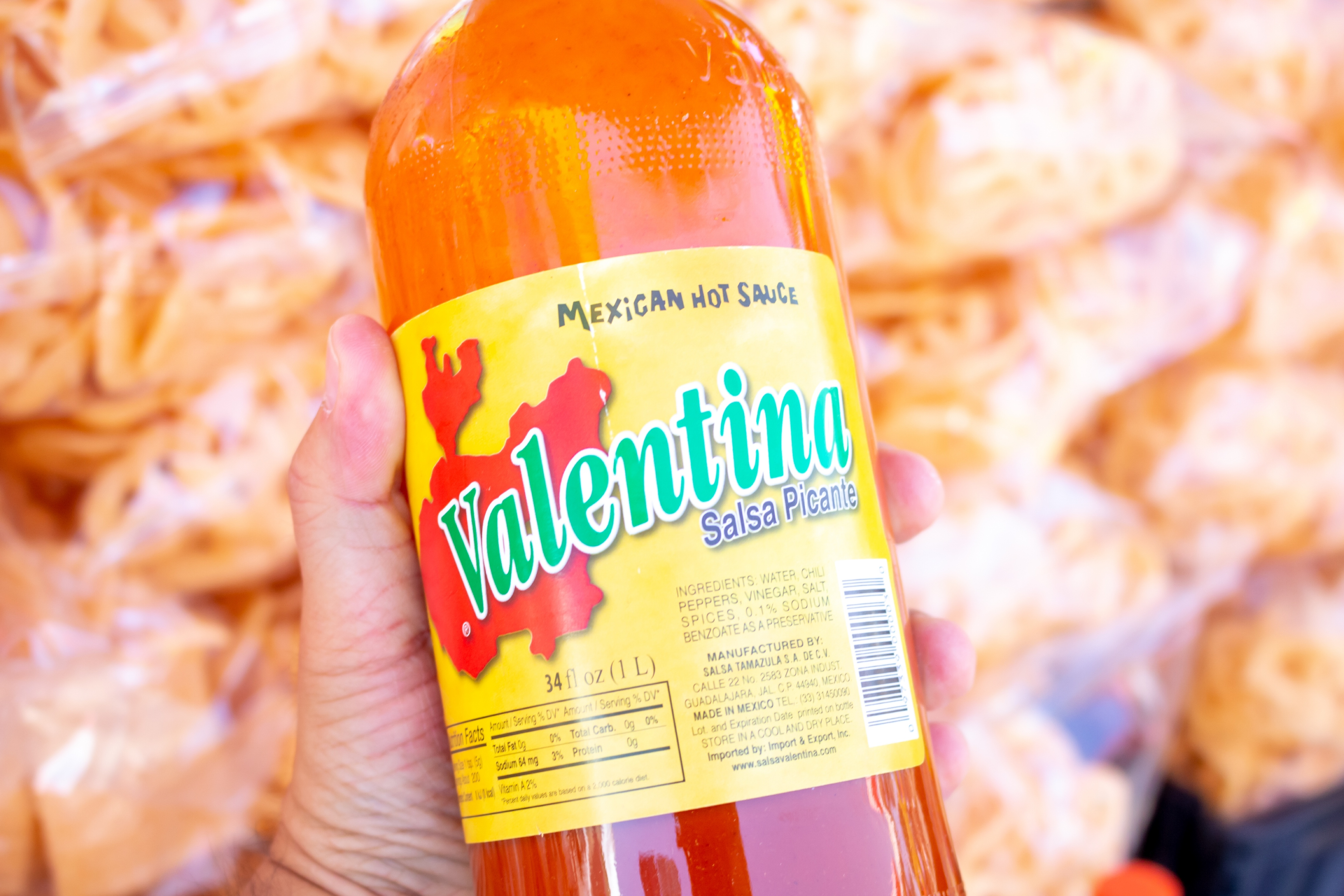 'Valentina' Hot Sauce Is Running Out Due To Shortage