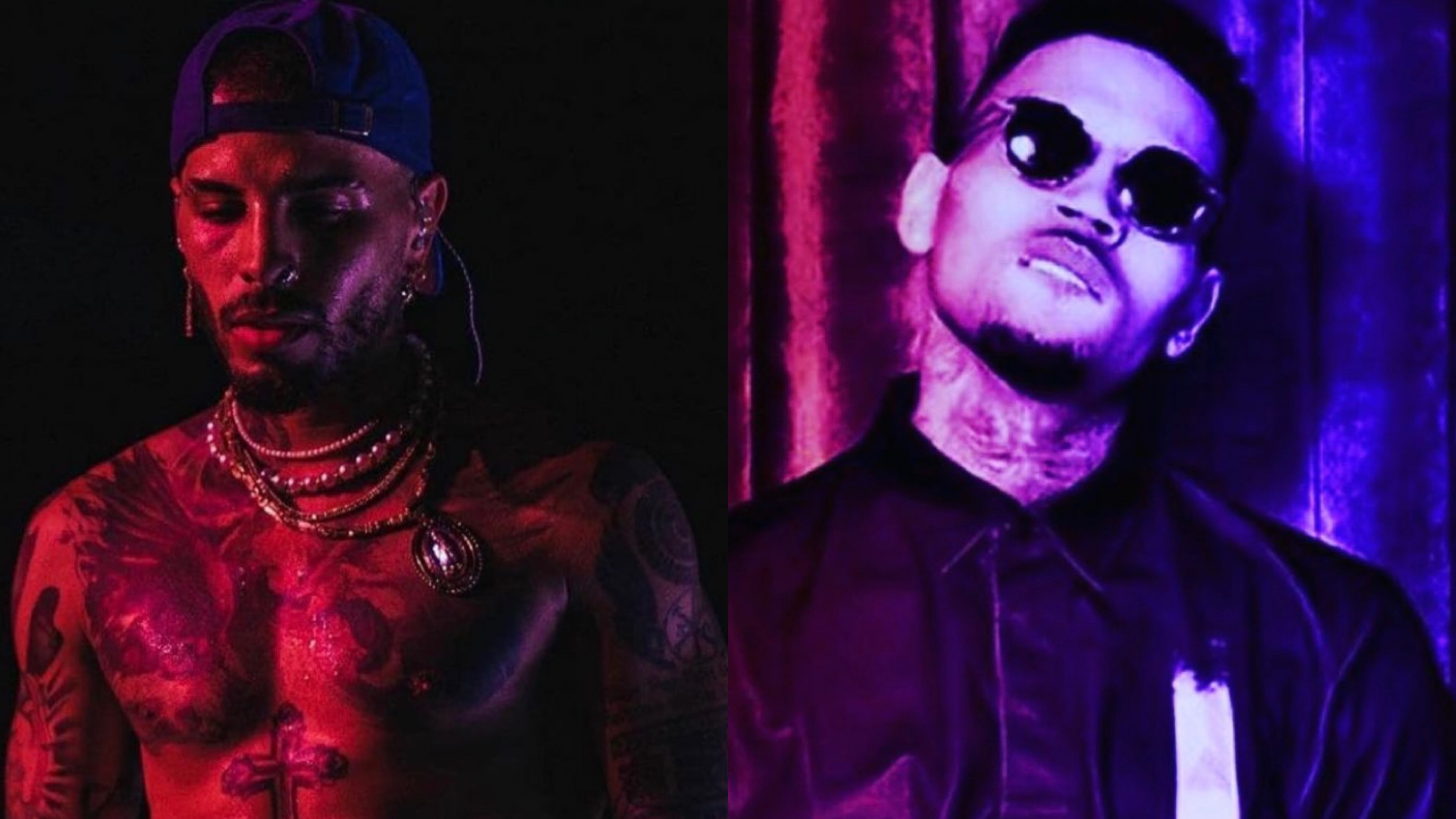Chris Brown and Rauw Alejandro Team Up On New Song 'Nostalgico'