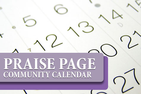 Praise Page Calendar