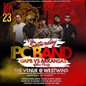 The PC Band LIVE on Sat. Oct 23, 2021