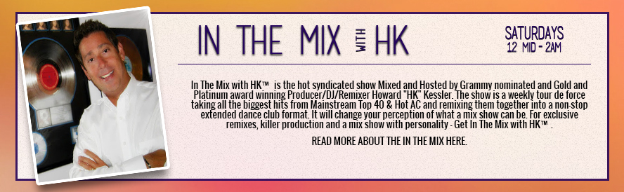 ON AIR STAFF - IN THE MIX HK